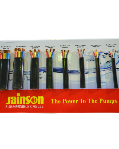 Submersible Kabel JAINSON Jainson Kabel 3x25mm 3 all_jainson_size
